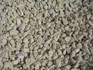 Cream Limestone Chippings - 20mm