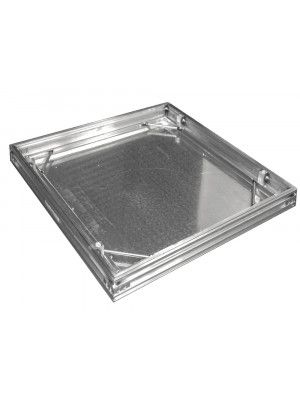 Alumatic - Recessed Manhole Cover - Triple Seal - Aluminium
