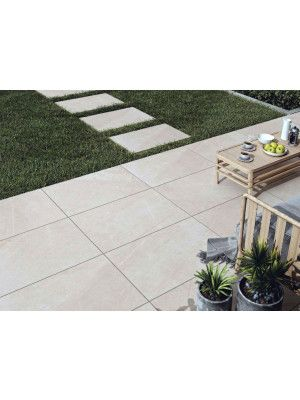 Vitrified Porcelain Paving - Pompeii Beige - Single Sizes
