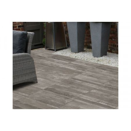 Porcelain Paving Collection - Deck Grey - Single Sizes (Individual Slabs)