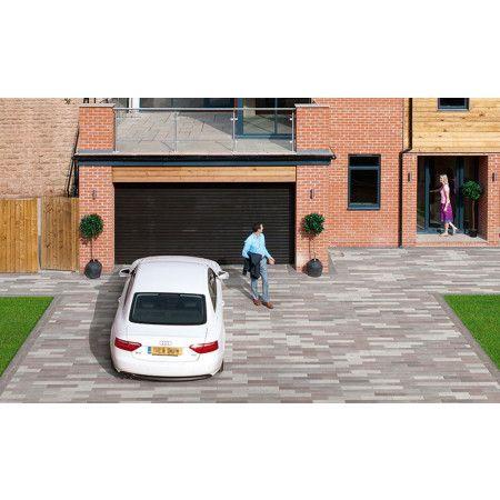 Marshalls - Concrete Driveway Block Paving - Driveline Metro - Maroon