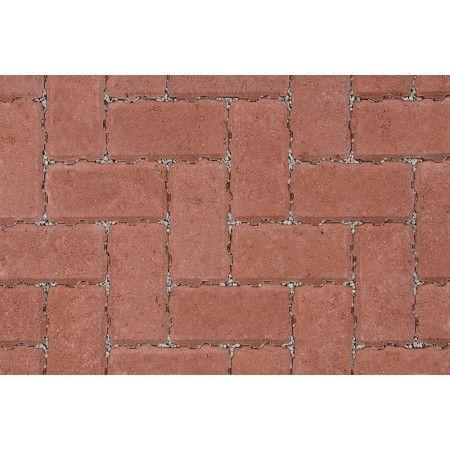 Marshalls - Concrete Driveway Block Paving - Driveline Priora - Red