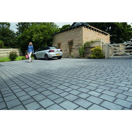 Marshalls - Drivesys Riven Stone - Silver Grey - Mixed Size Project Pack