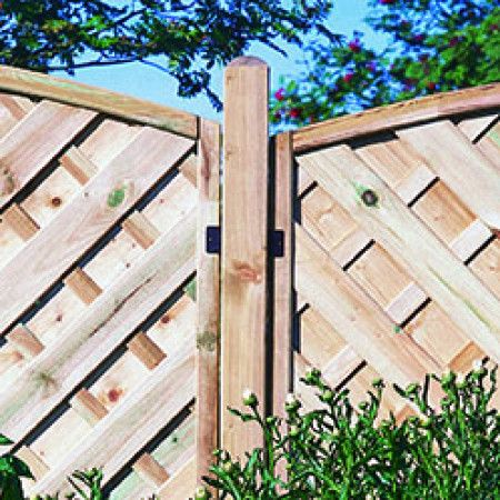 Forest - Ultima Fence Posts - Multiple Heights and Widths