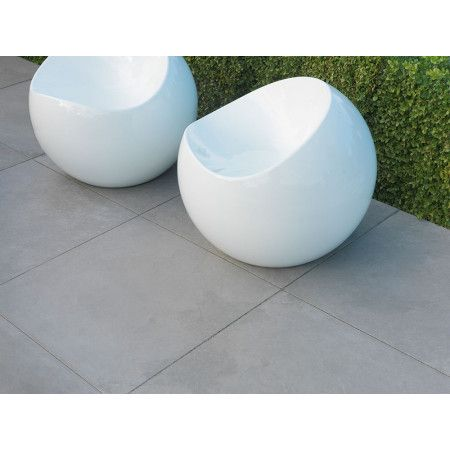 Stonemarket - Fortuna Vitrified Paving - Silver - 900 x 600mm
