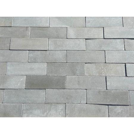 Indian Sandstone Pathway Setts - Kandla Grey - 300 x 100mm - Individual