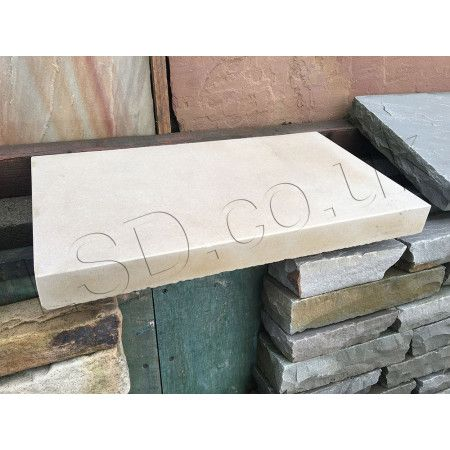 Natural Indian Sandstone - Polished Mint - Walling Copings (Individually)