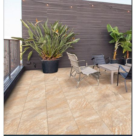 Porcelain Paving Collection - Gold Stone - Single Sizes (Individual Slabs)