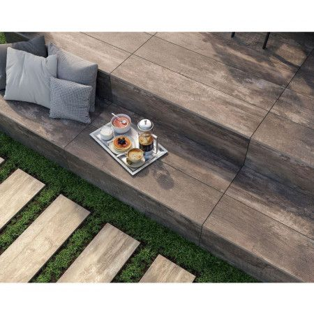 Porcelain Paving Tiles - Wetwood Collection - Wetwood Beige - Single Sizes (Individual Slabs)