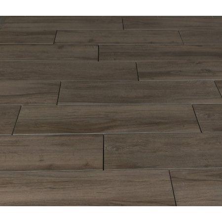 Porcelain Paving - Wooden Plank Effect - Brown - Single Sizes