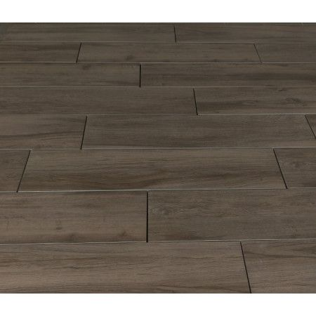 Porcelain Paving - Wooden Plank Effect - Brown - Single Sizes (Individual Slabs)