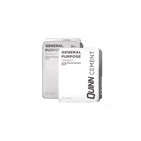 Quinn Building Products - General Purpose Cement - 25kg Carry Bags