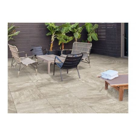 Porcelain Paving Collection - Silver Stone - Single Sizes (Individual Slabs)