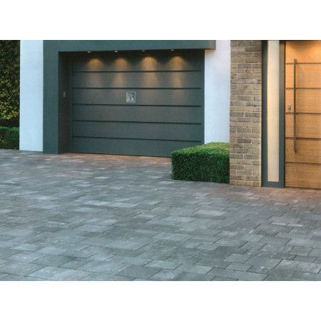 Stonemarket - Medley Paviors Coarse - Frost Grey - Project Pack