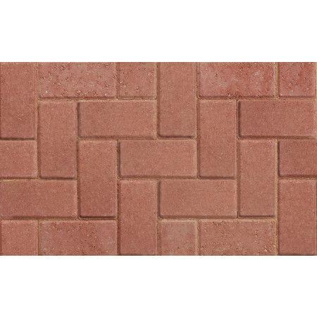 Marshalls - Standard Concrete Driveway Block Paving - Red