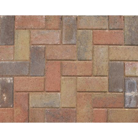 Marshalls - Standard Concrete Driveway Block Paving - Sunrise