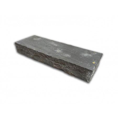 Indian Sandstone Thick Block Steps - Sagar Black Charcoal - 1000 x 350mm - Individual