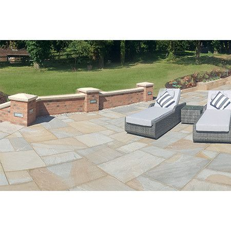Natural Paving - Classicstone - Calibrated - Yorkshire Blend - Project Pack