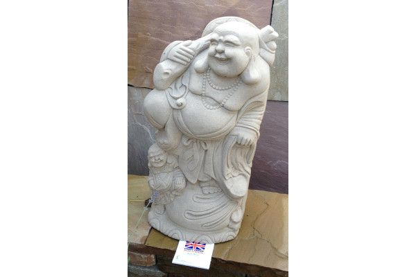 Stone Oriental Buddha