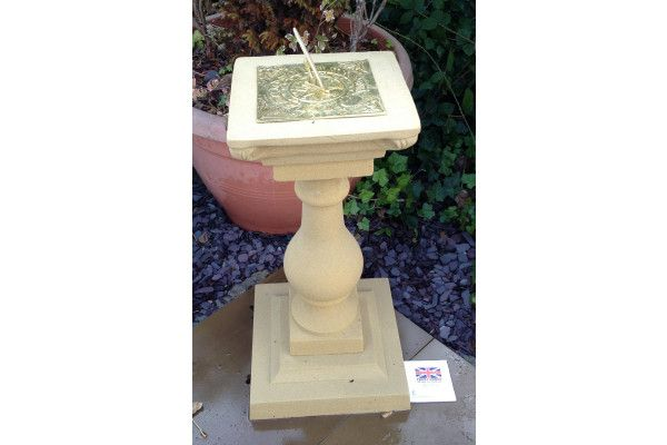 Balustrade Stone Sun Dial