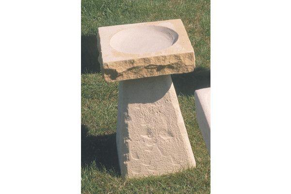 New Stone Bird Bath