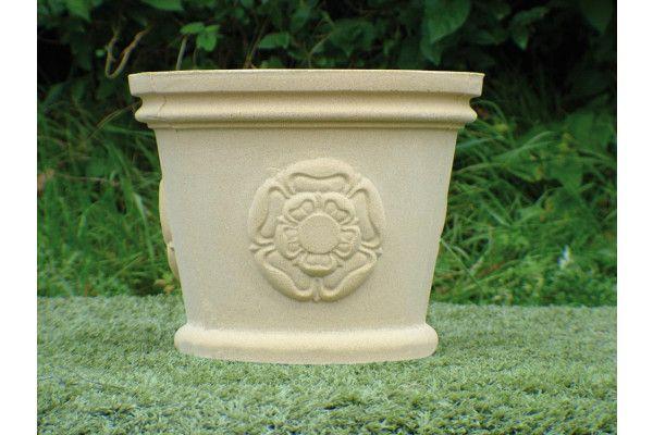 County Stone Pot Planter