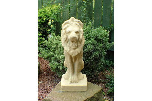 Tall Stone Lion