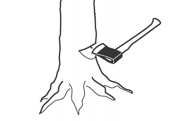 Bahco Felling Axe Ash Handle FGS 1.6-810 2.2kg