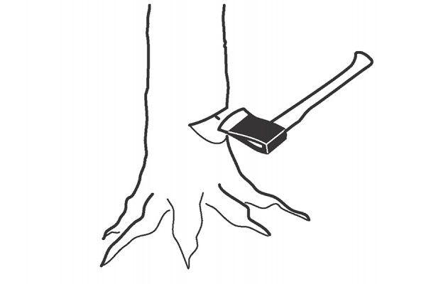 Bahco Felling Axe Ash Handle FGS 1.8-810 2.4kg