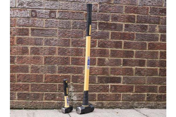 Faithfull Sledge Hammer Fibreglass Handle 3.18kg (7lb)