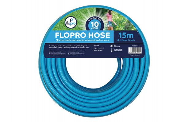 Flopro Flopro Hose 15m 12.5mm (1/2in) Diameter