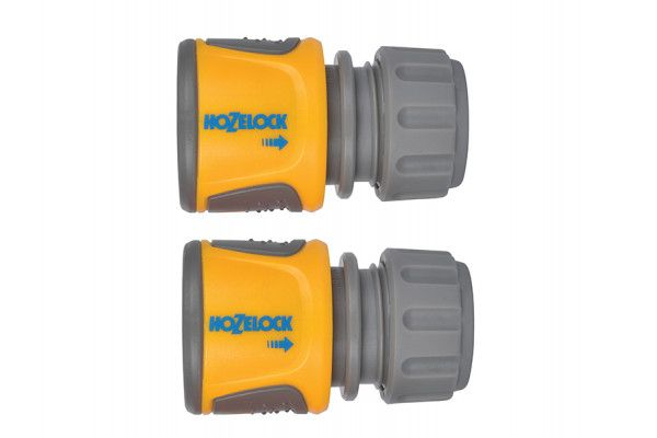 Hozelock 2070 Soft Touch Hose End Connector, Pack of 2
