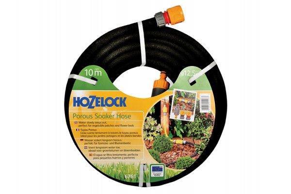 Hozelock Porous Soaker Hose 10m 12.5mm (1/2in) Diameter