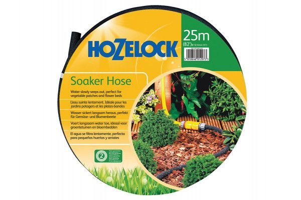 Hozelock Porous Soaker Hose 25m 12.5mm (1/2in) Diameter