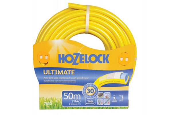 Hozelock Ultimate Hose 50m 12.5mm (1/2in) Diameter