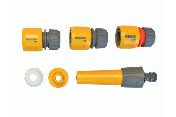 Hozelock 2412 30m Freestanding Compact Hose Reel + 25m of 12.5mm Hose