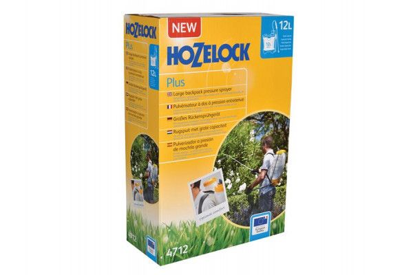 Hozelock 4712A Knapsack Pressure Sprayer Plus 12 Litre