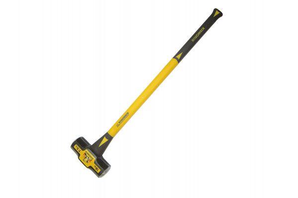 Roughneck Sledge Hammer Fibreglass Handle 6.4kg (14lb)