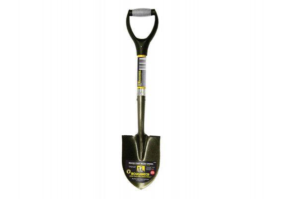 Roughneck Micro Shovel Round Handle