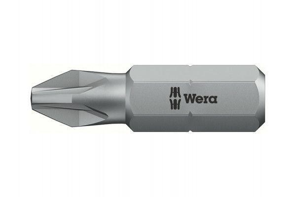 Wera Bit-Box 20 H Extra Hard Bits PZ2 x 25mm 20 Piece