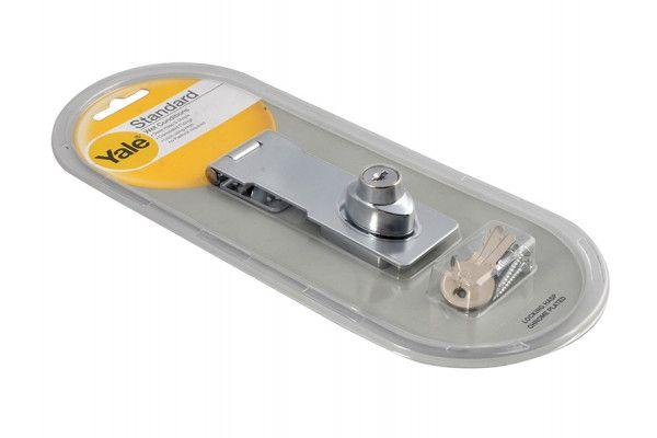 Yale Locks Y116/115 Locking Hasp Chrome Plated 116mm