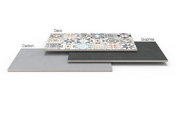 Stonemarket - Acento - Graphite - Single Sizes