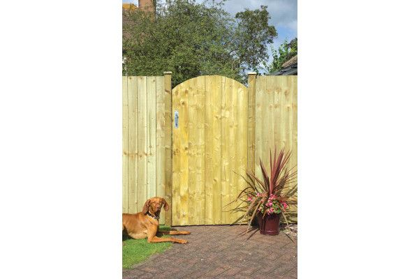 Grange - Arched Feather Edge Gate
