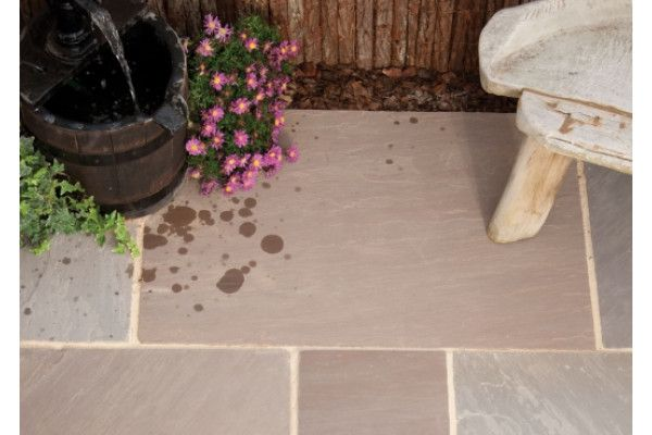 Natural Paving - Classicstone - Calibrated - Autumn Brown - Project Pack