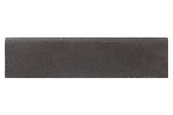 Bradstone - Round Top Edging - Dark Grey - Individual