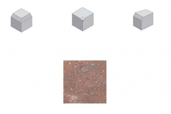 Bradstone - Block Kerb Accessories - Brindle - Small Kerbs