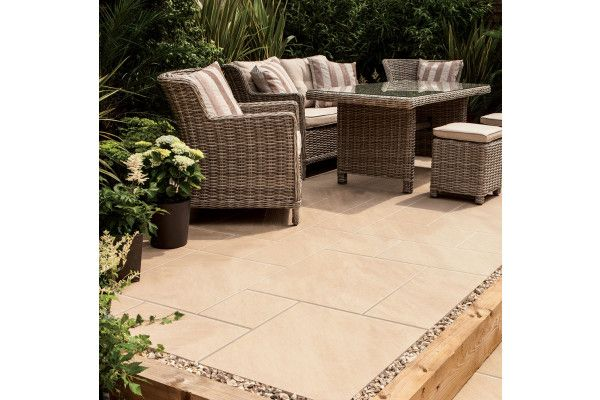 Bradstone Aspero Porcelain Collection Beige Patio Pack