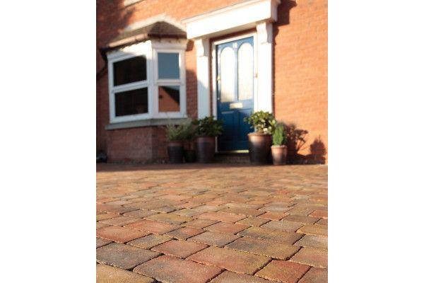 Bradstone - Woburn Rumbled Block Paving - Autumn - Single Sizes