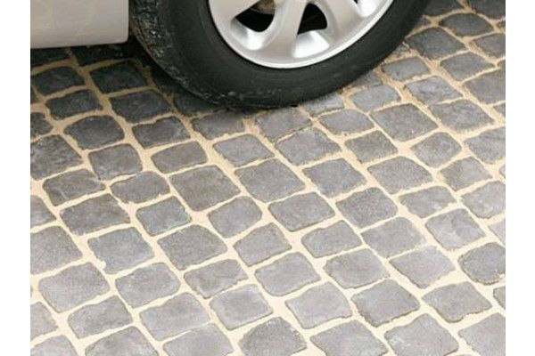 Bradstone - Carpet Stones - Cobble - Charcoal (Individual Slabs)