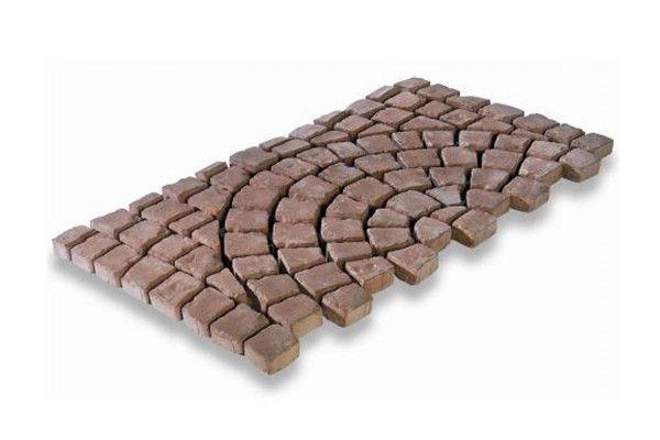 Bradstone - Carpet Stones - Cobble - Rustic Red